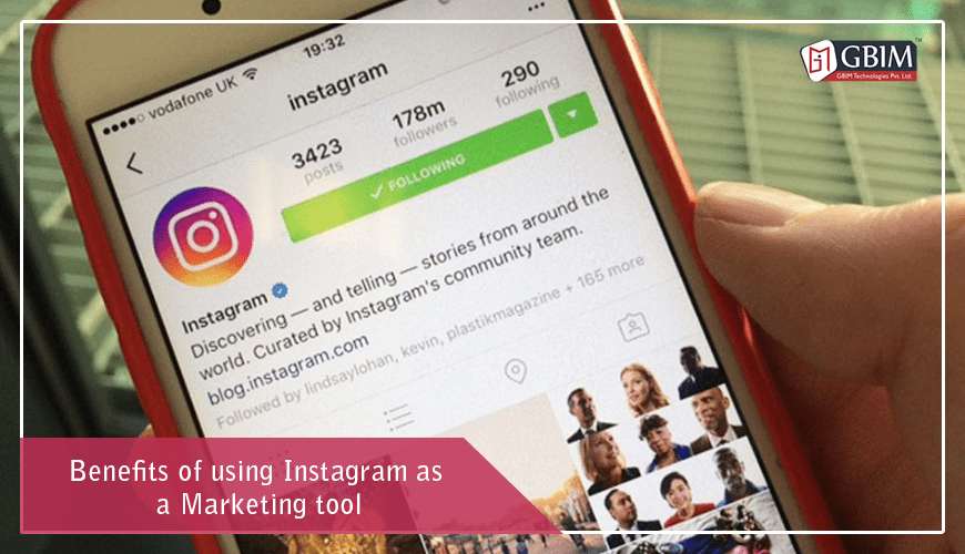 Benefits of Using Instagram as a Marketing Tool